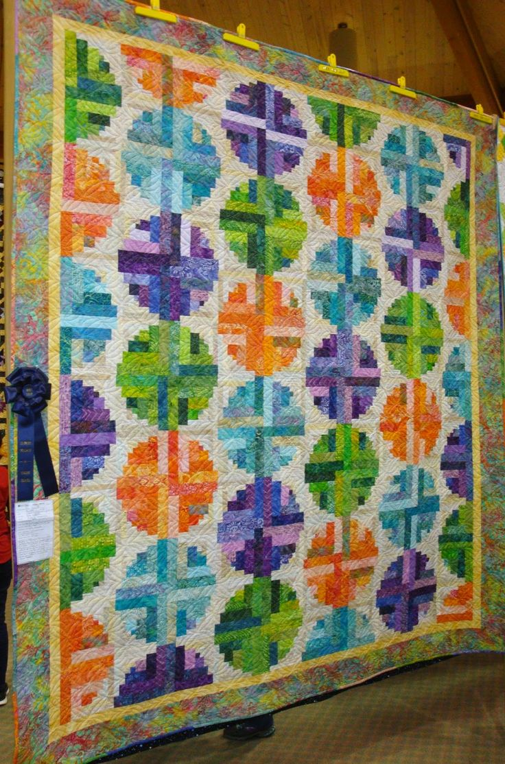 482 Best Images About Log Cabin Curved Log Cabin Quilts On