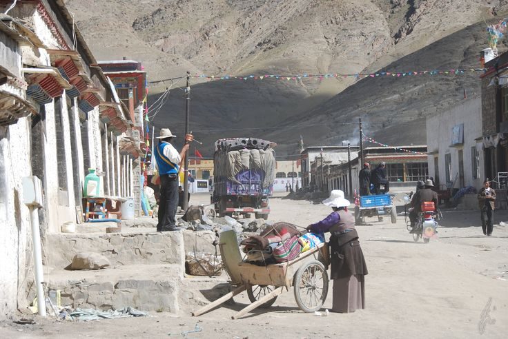 Tibet, village