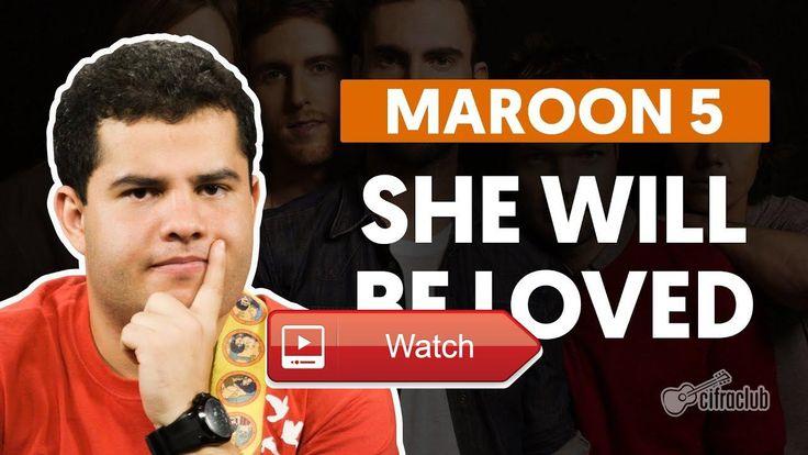 She Will Be Loved Maroon aula de guitarra  Cifra tab e aula com diviso em captulos em Equipamentos Guitarra Tagima T Antique