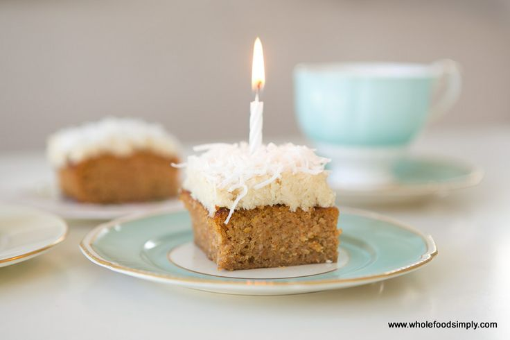 Whole Orange and Carrot Cake with Coconut Frosting