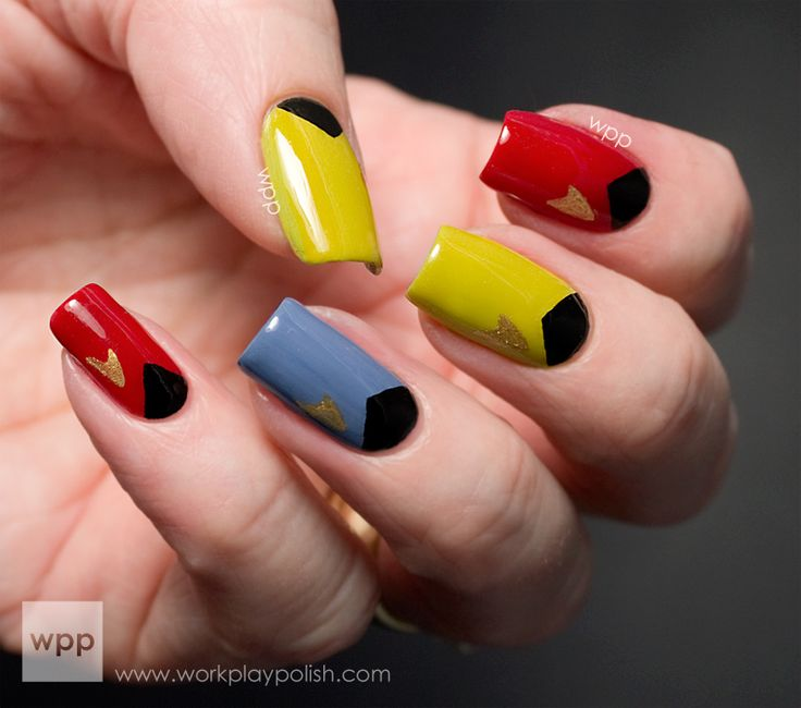 TOS nails - Now if I could get my wife into these!