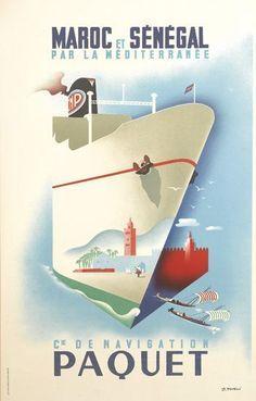 Compagnie de Navigation Paquet ~ J. Tonelli