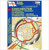 New Listing Started Chichester: Full Colour Street Map (Folded) £0.45