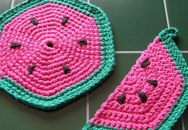 Summertime Watermelon Crochet