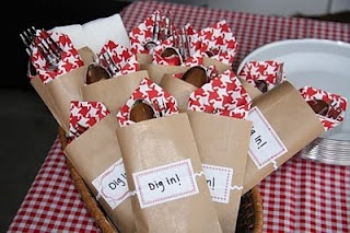 for the bbq baby party