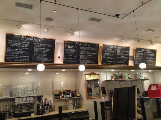 Toni Patisserie Restaurant Chalkboard Menus