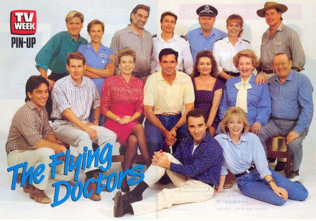 Flying Doctors - Cast