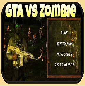 Grand Theft Auto vs Zombie
