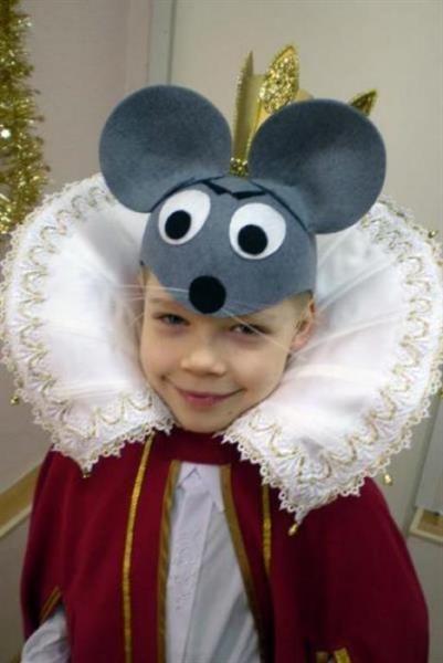 Сделат костюм мыши для спектакля