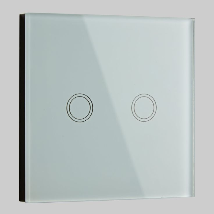 Best 25 touch light switch ideas on pinterest diy light biard 2 gang white glass designer touch light switch mozeypictures Choice Image