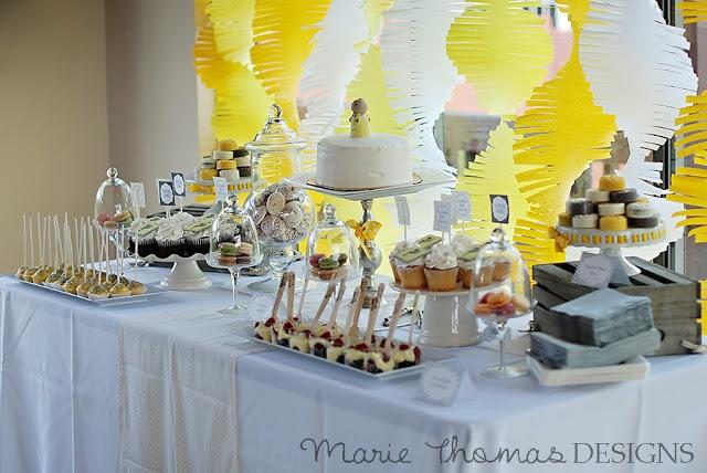 Yellow party theme