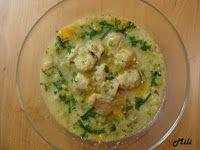 Zdravě a hravě: Brokolicová polévka s kváskovým kapáním