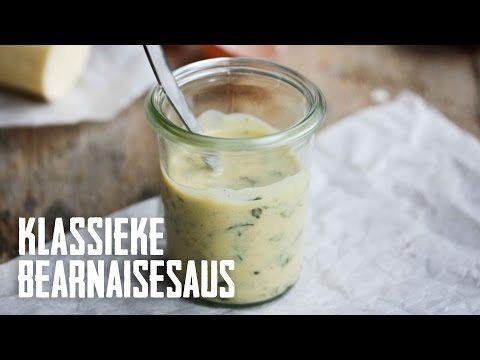 Klassieke Bearnaisesaus - basis sauzen maken - YouTube