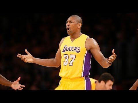 The Tanking Lakers Made Metta World Peace Shoot A Ton Of Threes But They...