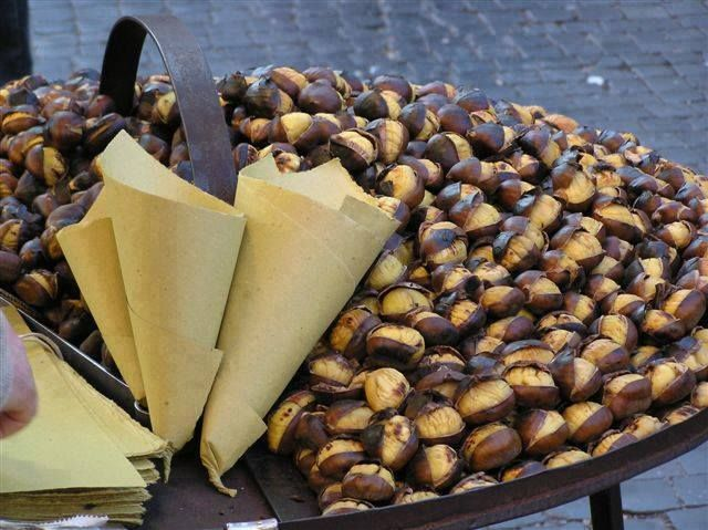 Chestnuts fever in Tuscany