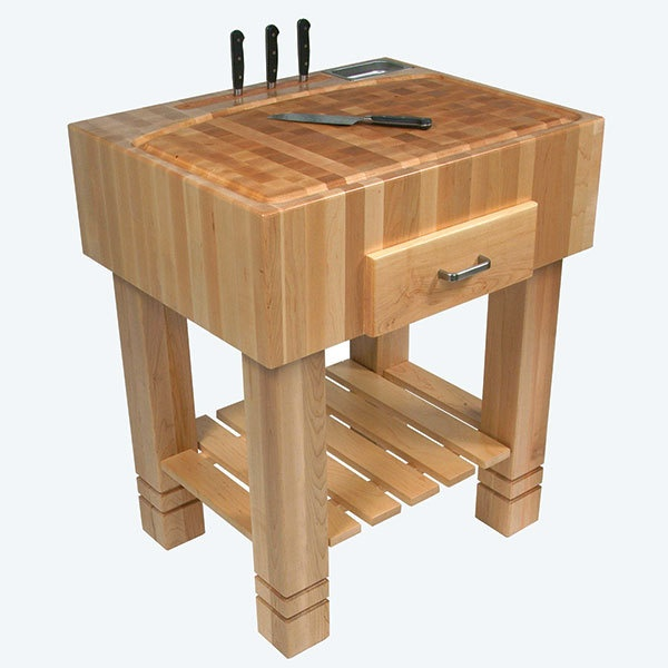 Butcher Block Island Table 57500 Via Etsy Must