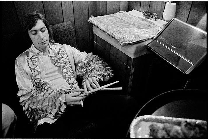 The late Jim Marshall, one of rock's greatest photographers, went on the road with the Rolling Stones in 1972. Take a look at some of his classic images