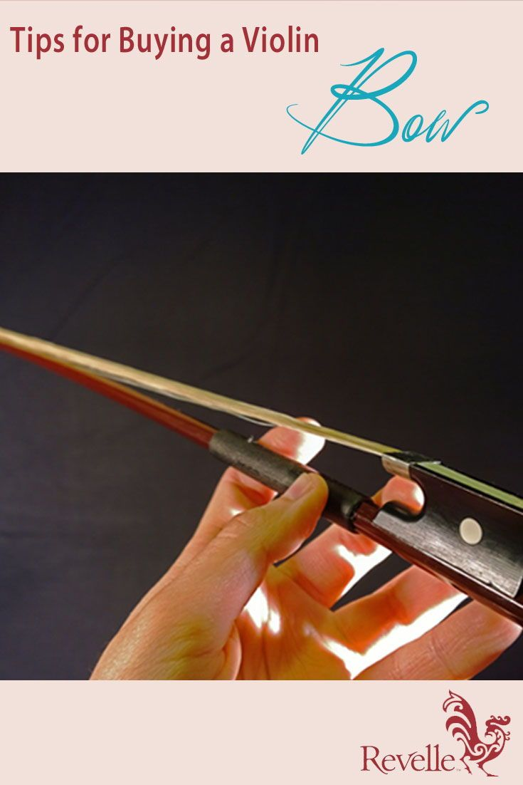 Looking for a perfect bow for your violin? Carefully consider our criteria before your purchase. https://www.connollymusic.com/stringovation/tips-buying-violin-bow @revellestrings