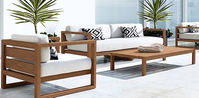 25 best rh furniture ideas on pinterest living room for Restoration hardware teak outdoor furniture