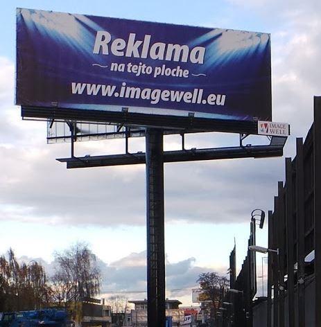 reklamná plocha na prenájom