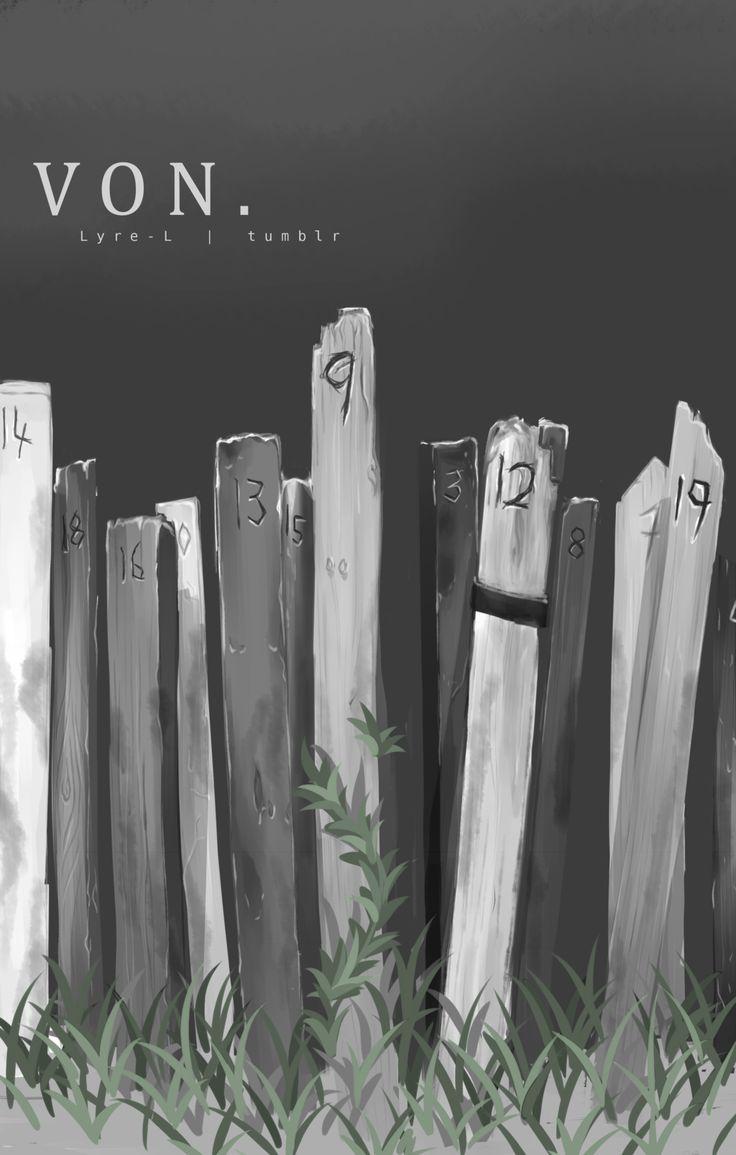 Zankyou no Terror fan art: Nine's and Twelve's grave :'(