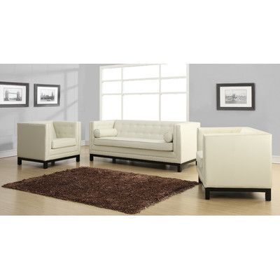 Sharp Design And Neutral Colors Create A Sofa Sure To Add A Modern And  Fashionable Element To Your Space. The Zoe Living Room Set Is Available In  Cream ...