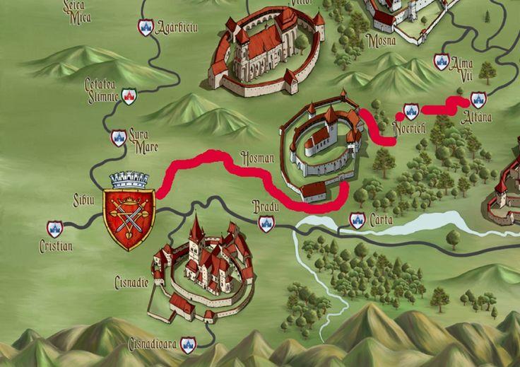 Sibiu, Transilvania Medievala Development