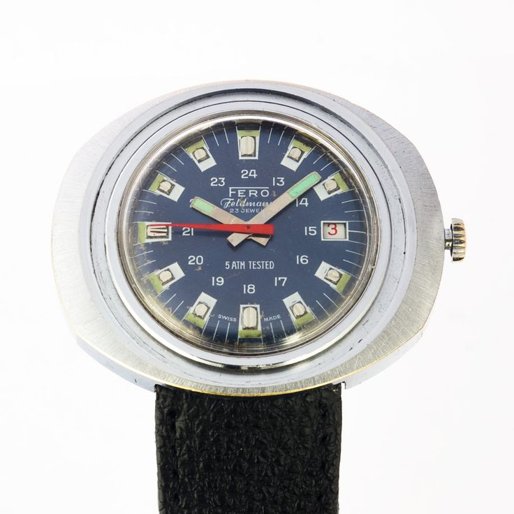 Okay, you may ask if it's real - GMT Fero watch from the funky era