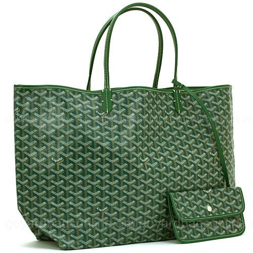 Goyard Bag Green St. Louis Tote-Use mine all the time! Fall is the perfect time to add a green one :)