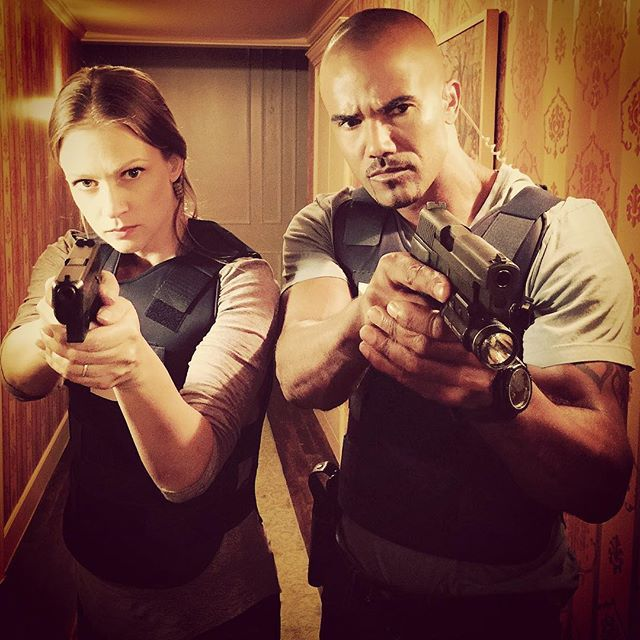 I wanna say my two faves but I also really love Reid and Hodge and Garcia so just two OF my faves :P #CriminalMinds #JenniferJareau #DerekMorgan