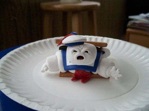 Stay Puft S'more by Brad Hill