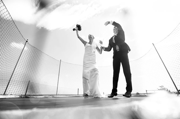 happy bride and groom :)