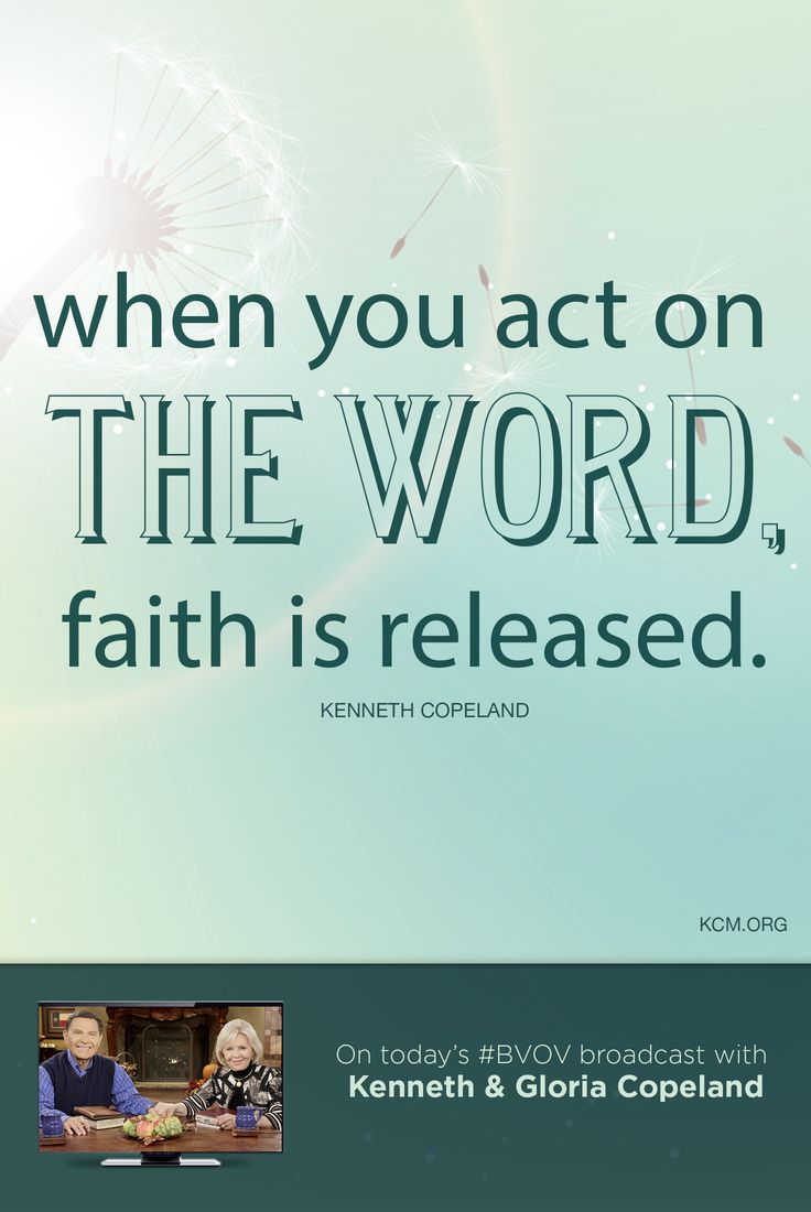 Discover how to develop your faith by reading God's WORD and acting on what He says. - See more at: http://www.kcm.org/watch/tv-broadcast/how-grow-your-faith#sthash.XrJXA2mh.dpuf
