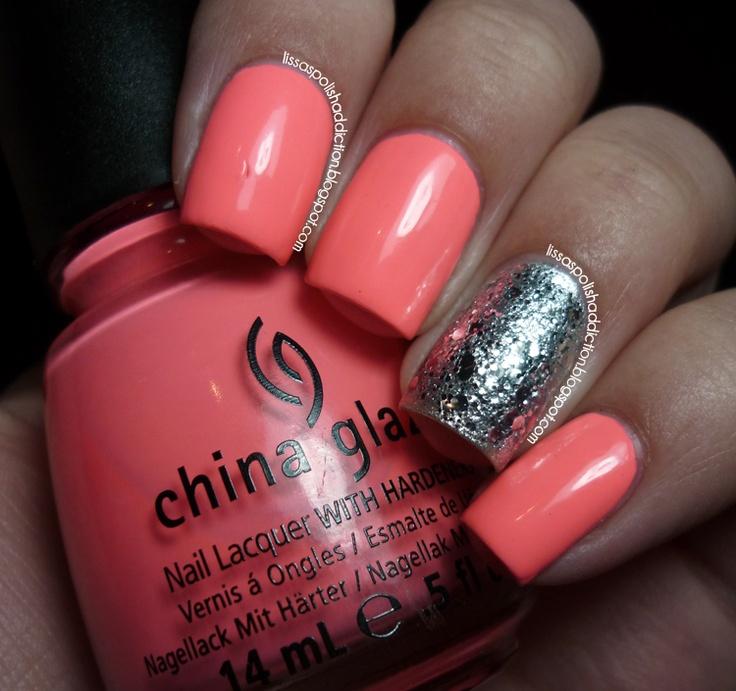 love the color for summer  Lissa's Polish Addiction: China Glaze - Flip Flop Fantasy