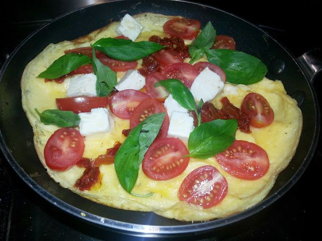 My Aussie LCHF life: Breakfast omelette