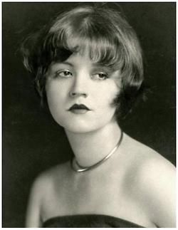 miss-flapper:    1920's actress - The wild , scandal ridden Alice White with brown hair, circa 1920s.