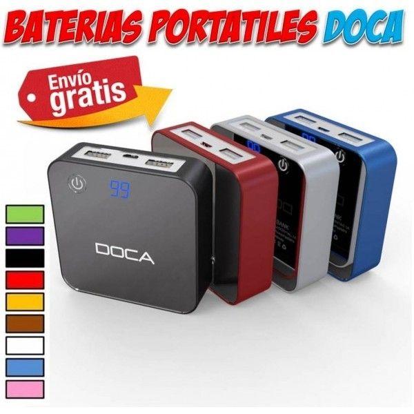 #accesorios #moviles #telefonia #gadgets #cargadores #baterias Bateria portatil externa y cargadores de viaje para telefonos moviles iPhone, Samsung, HTC, LG, Sony...