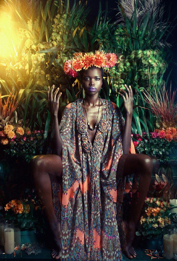 Mara Hoffman: Inspiration, Style, Color, Mara Hoffman, Marahoffman, Art, Fashion Photography, Beauty, Flower
