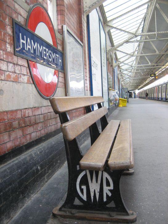 HAMMERSMITH TUBE STATION | HAMMERSMITH | LONDON | ENGLAND: *London Underground: Circle Line; Hammersmith & City Line*