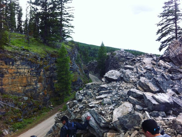 Kettle Valley Railroad Trail in the Okanagan BC by NyxStudioArt