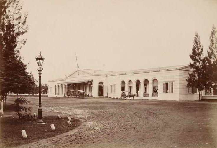 Surabaya train station 1880's