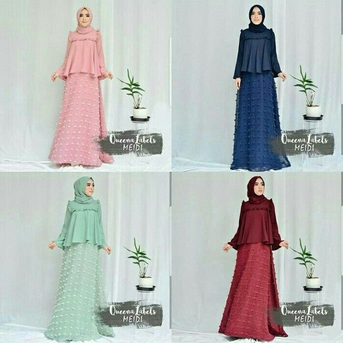 Fn Meidi set 2in1 Rp. 140.000 include : top balotelly + skirt balotelly mix linen rubiah size : allsize fit L  Informasi dan pemesanan hubungi kami SMS/WA +628129936504 atau www.ummigallery.com  Happy shopping   #jilbab #jilbabbaru #jilbabpesta #jilbabmodern #jilbabsyari #jilbabmurah #jilbabonline #hijab #Kerudung #jilbabinstan #Khimar #jilbabterbaru #jilbab2017 #jilbabkeren #jilbabmodis #bajumuslim #gamis #syari #maxidress #maxi #atasanwanita #atasanmuslim