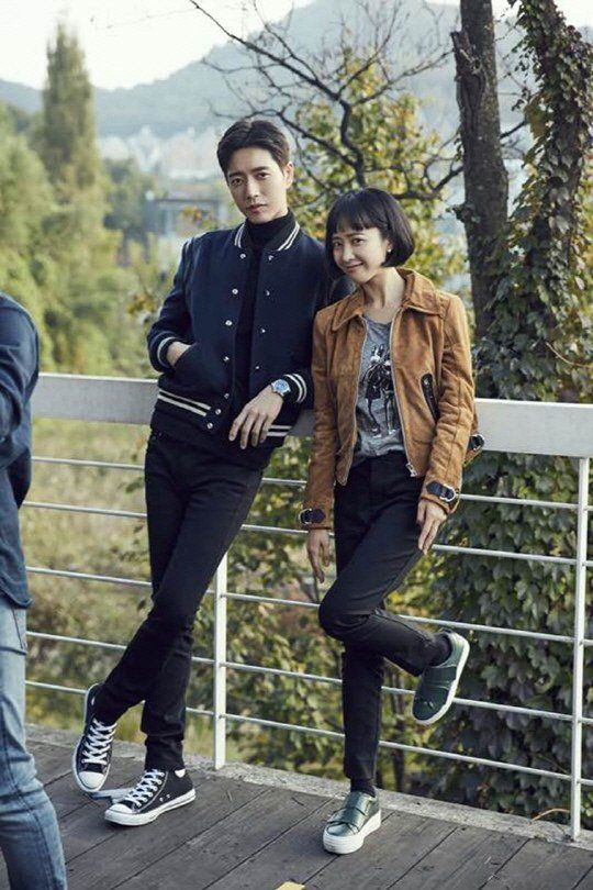 "[Photos] ""Man To Man"" Park Hae-jin and Kim Min-jeong's first take"