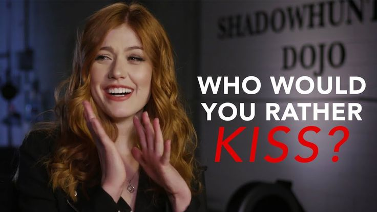 The Shadowhunters Cast Plays 'Who Would You Rather Kiss?'