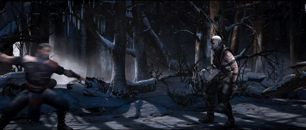 """And all the bloody gore you can ask for: 