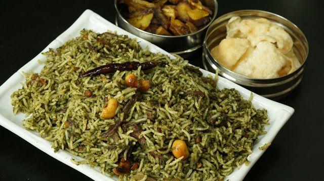 Coriander Rice / Kothamalli Sadam