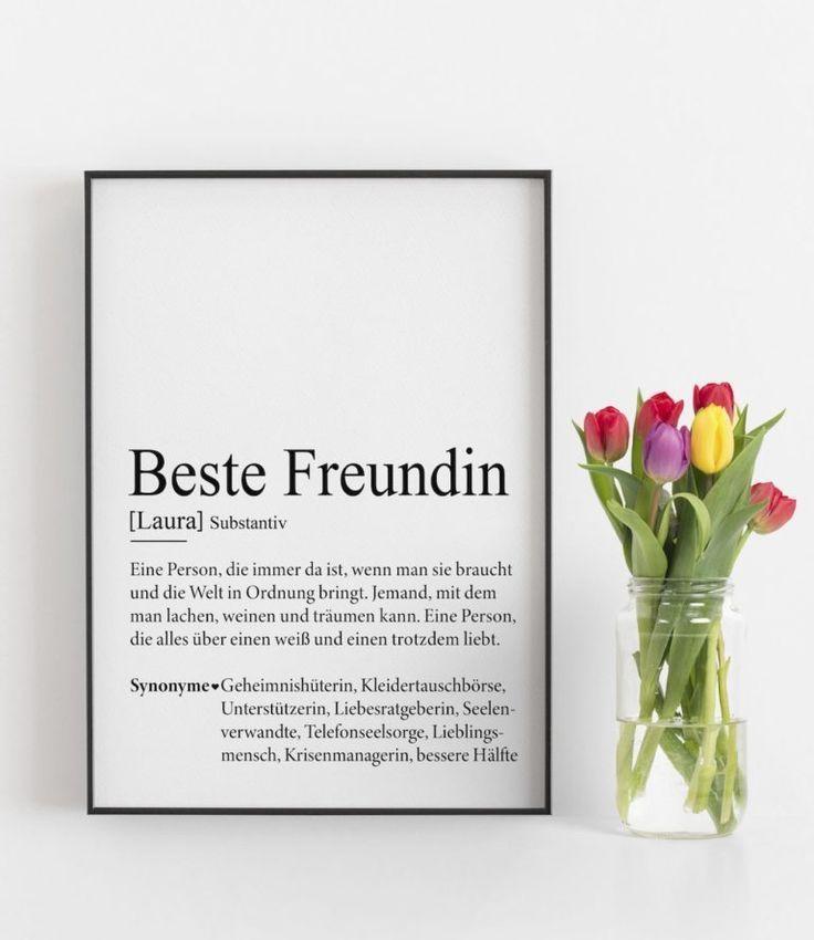 Pin auf Geschenke Beste Freundin