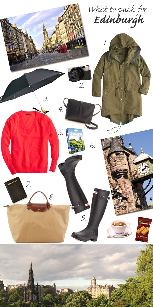 What to Pack for Edinburgh                                                                                                                                                                                 More