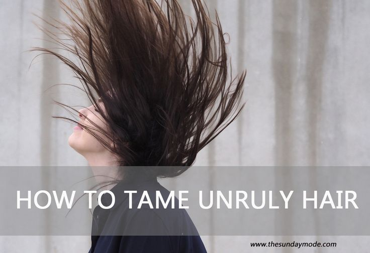 How To Tame Unruly Hair | www.thesundaymode.com