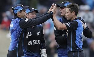 Kane Williamson top scored for New Zealand as they made heavy weather of a low total, eventually winning by three wickets